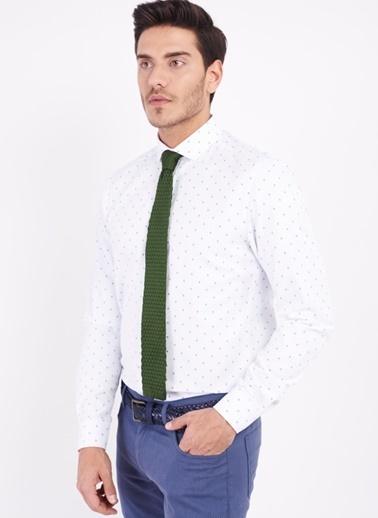 Altınyıldız Classics Slim Fit Uzun Kollu Gömlek Mavi
